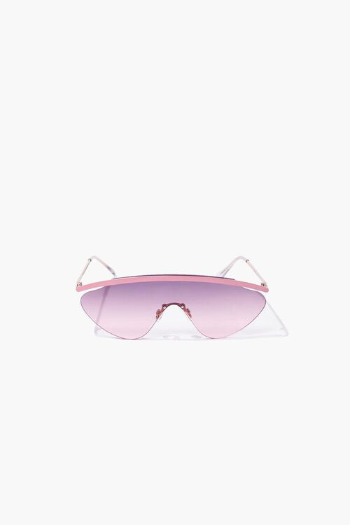 Gradient Metal Sunglasses, image 1