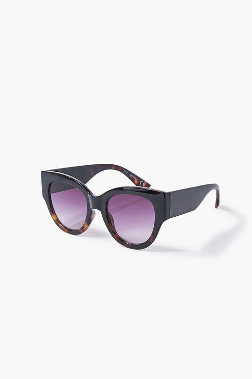 BLACK/BLACK Tortoiseshell Gradient Sunglasses, image 4