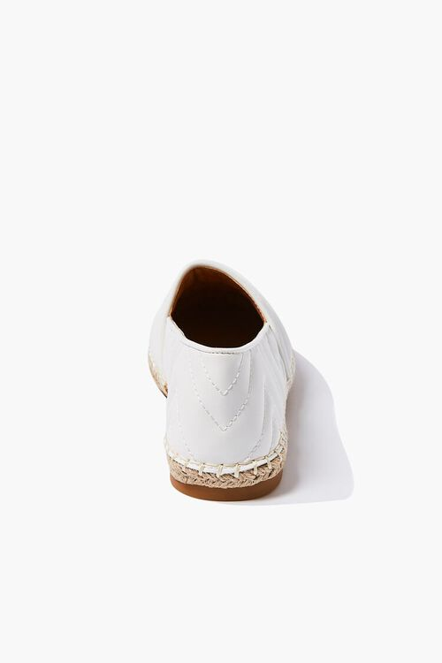 Quilted Espadrille Flats, image 2