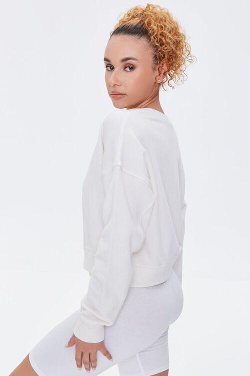 Split-Neck Sweatshirt, image 2