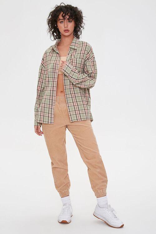 Plaid Chest-Pocket Shirt, image 4