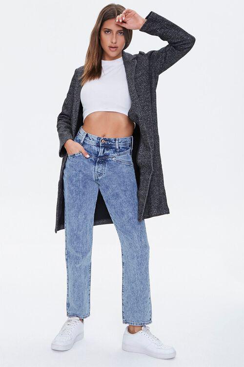 Acid Wash Straight-Leg Jeans, image 5