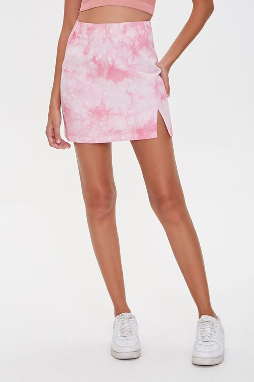 Tie-Dye Mini Skirt, image 2