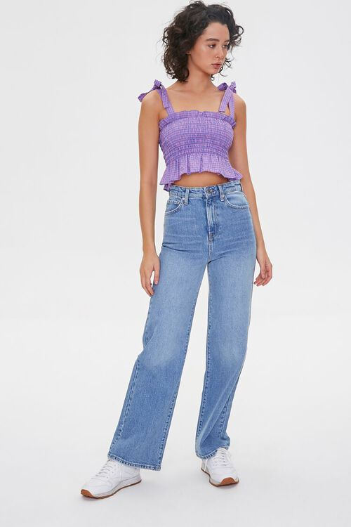 Faded Straight-Leg Jeans, image 1