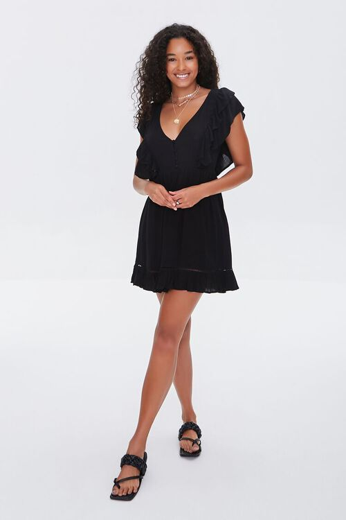 Flounce Fit & Flare Dress, image 4