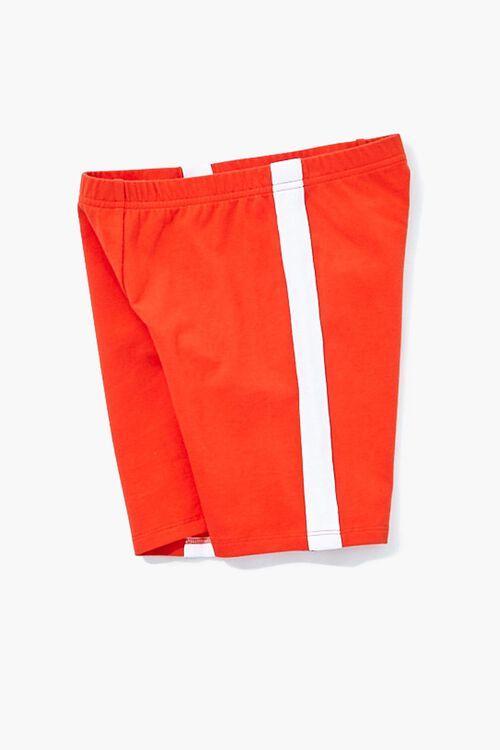 Girls Striped-Trim Biker Shorts (Kids), image 2