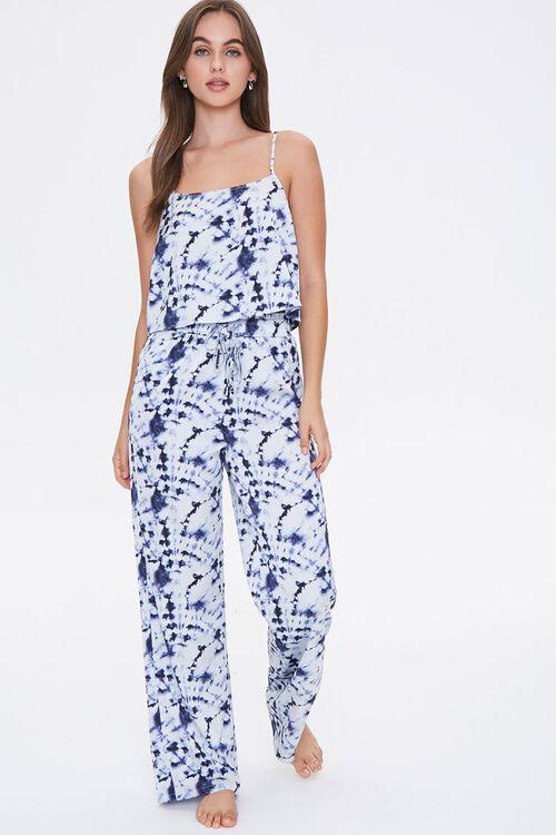 Tie-Dye Wash Cami & Pants Sleep Set, image 1