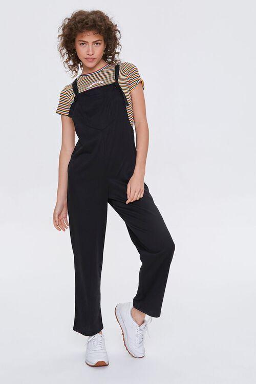Straight-Leg Knit Jumpsuit, image 1