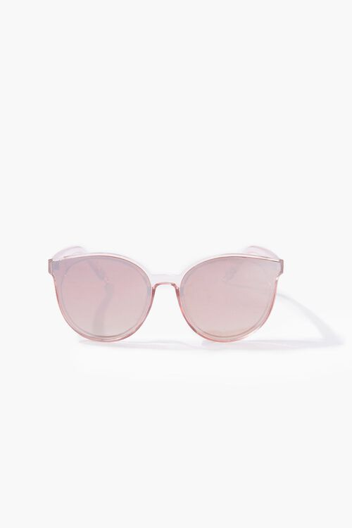 Clear Round Sunglasses, image 1