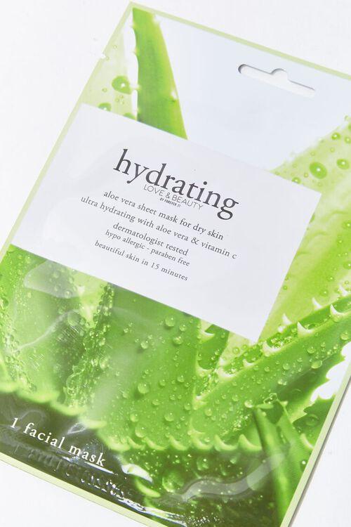GREEN Hydrating Sheet Face Mask, image 3