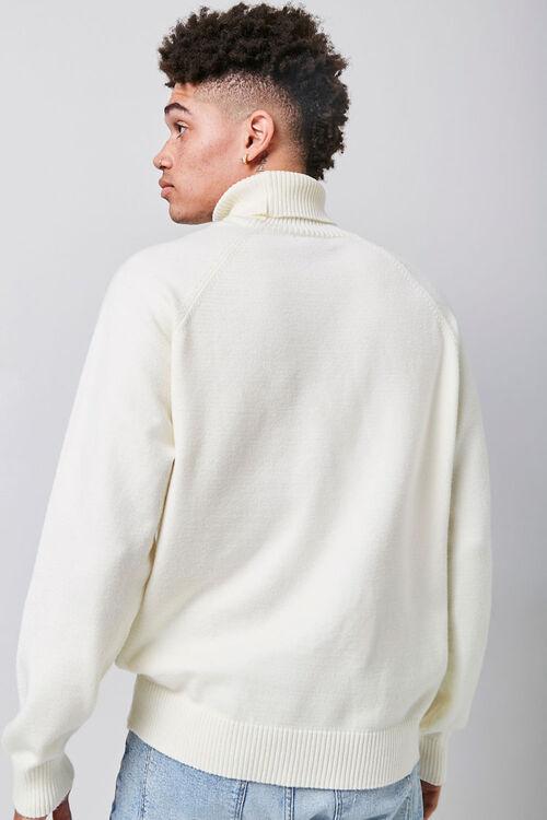 Turtleneck Raglan Sweater, image 3