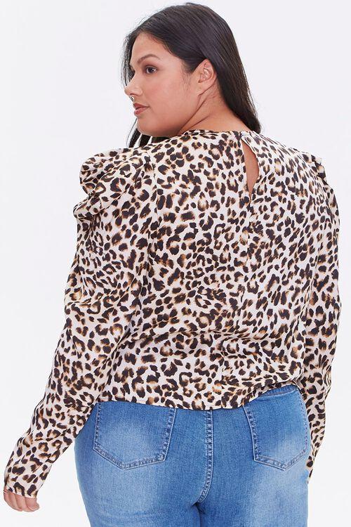 Plus Size Leopard Print Top, image 3