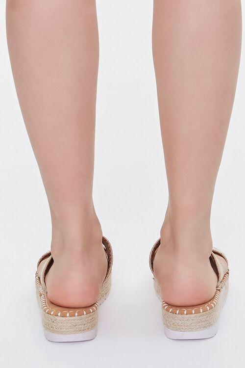 Threaded Espadrille Flatform Sandals, image 3