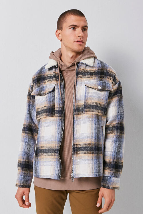 Plaid Zip-Up Jacket, image 5