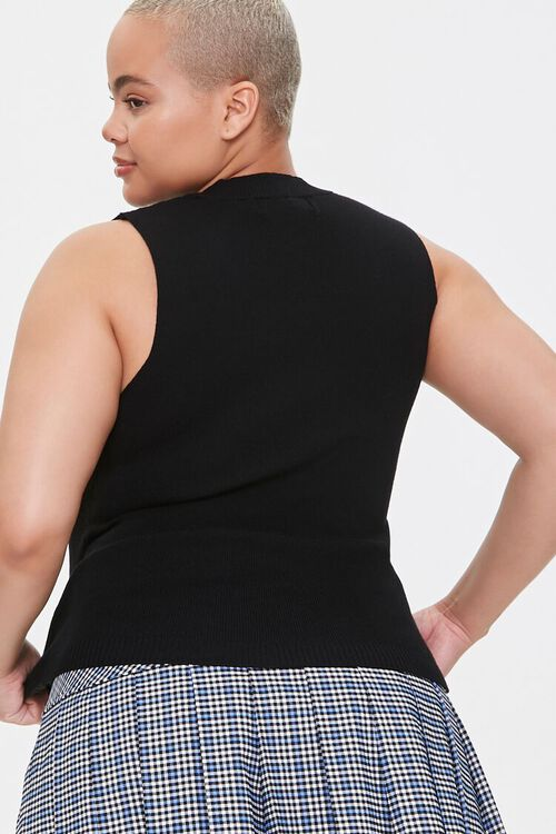 Plus Size Sweater-Knit Tank Top, image 3