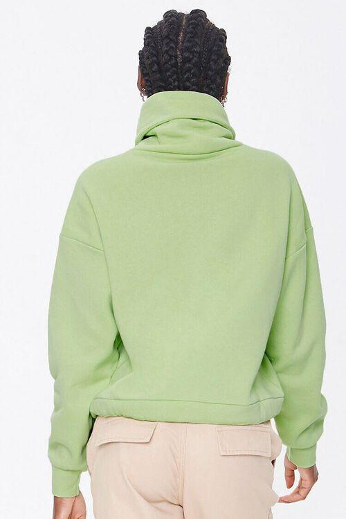 Fleece Turtleneck Sweater, image 3