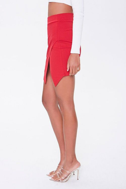 Tulip-Hem Mini Skirt, image 2