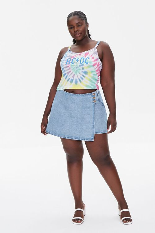 Plus Size AC/DC Graphic Cropped Cami, image 4