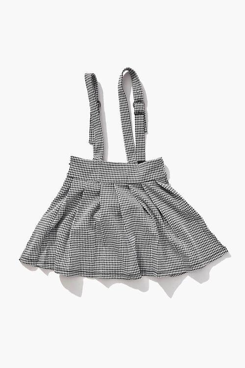 Girls Houndstooth Pinafore Dress (Kids), image 2