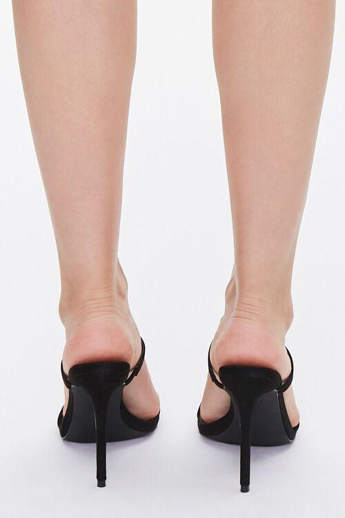 Faux Suede Stiletto Heels, image 3