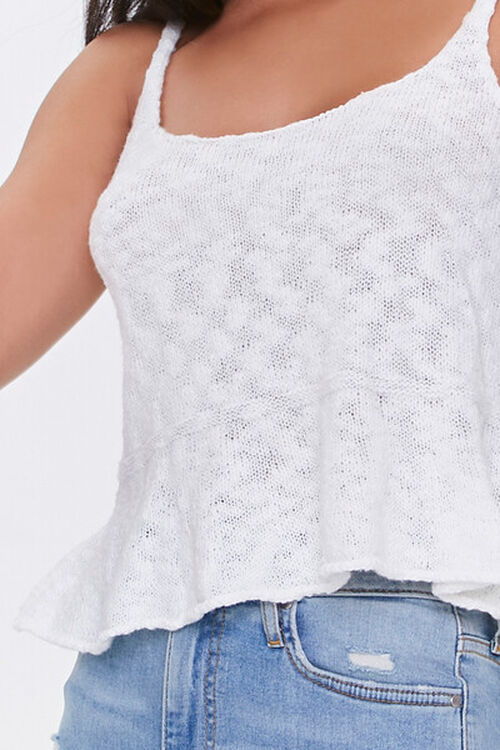 Burnout Sweater-Knit Cami, image 5