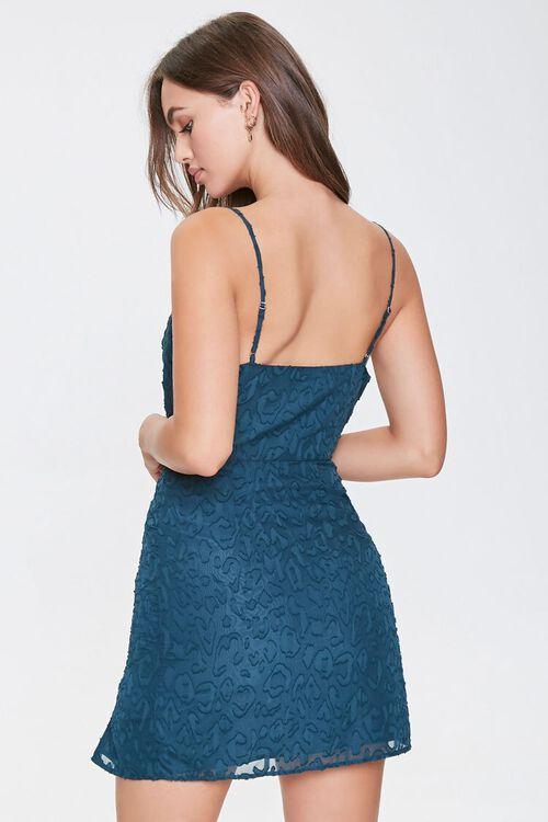 Textured Leopard Print Dress, image 3