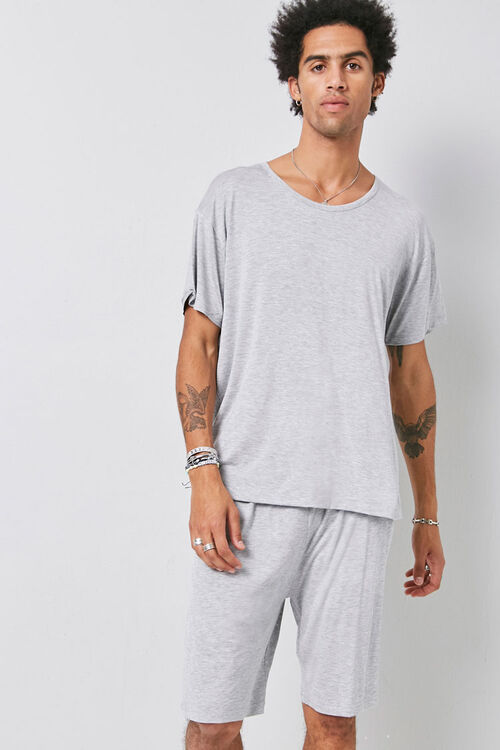 Tee & Shorts Pajama Set, image 1