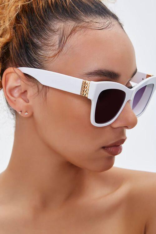 Ornate-Trim Cat-Eye Sunglasses, image 2