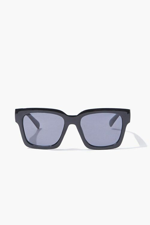 BLACK/BLACK Square Tinted Sunglasses, image 1