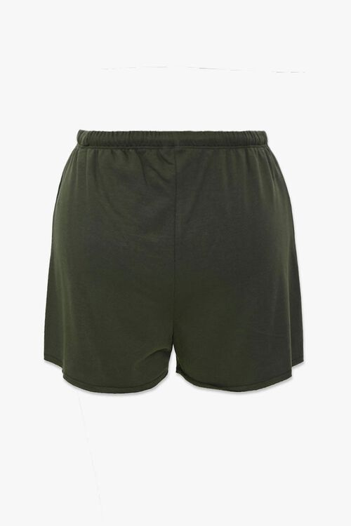 Drawstring Raw-Cut Shorts, image 3