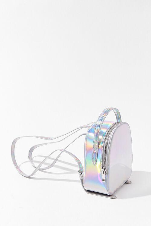 HOLOGRAPHIC Iridescent Mini Backpack, image 2