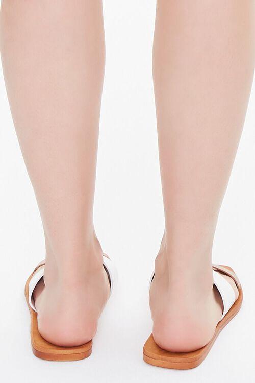 Square Dual-Strap Sandals, image 3