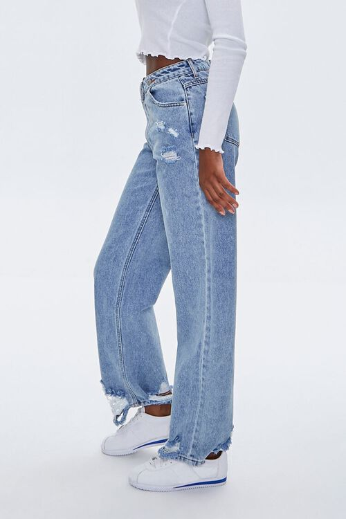Crisscross High-Rise Straight Jeans, image 3