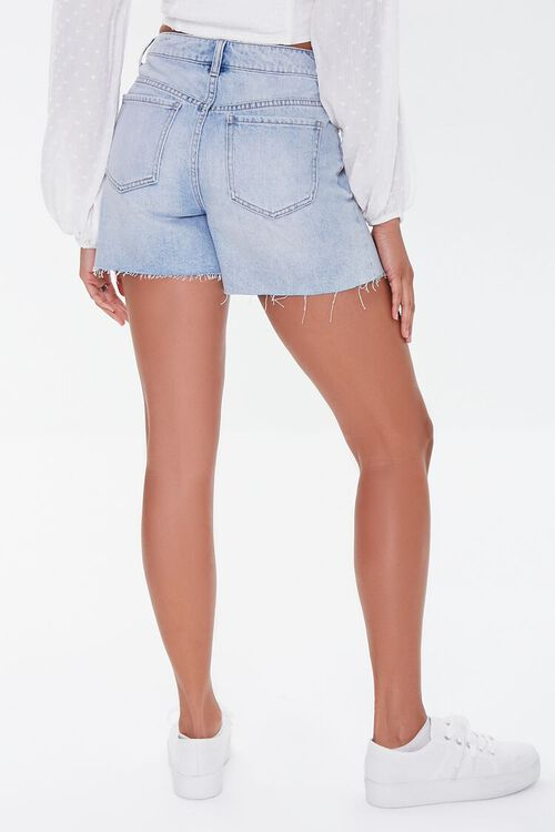 Raw-Cut Denim Shorts, image 4