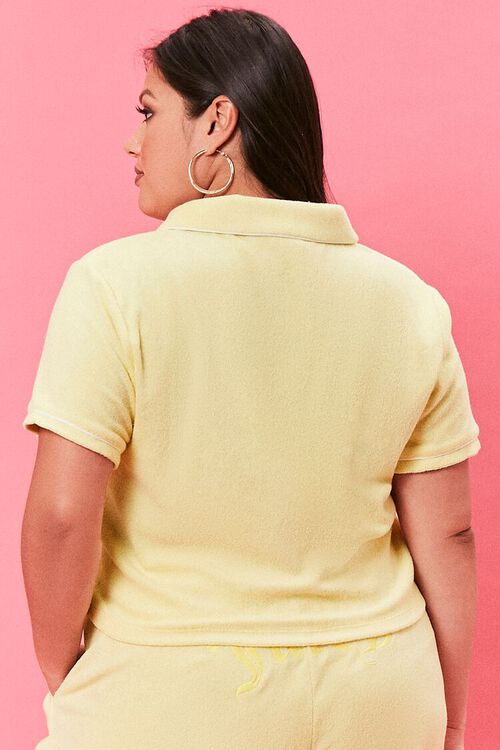 Plus Size Juicy Couture Polo Shirt, image 3