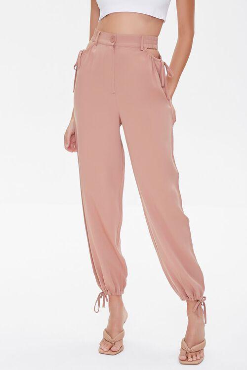 Waistband Cutout Pants, image 2