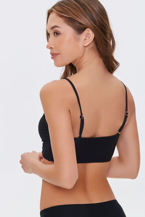 Crisscross Bralette Bikini Top, image 3