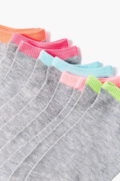 Colorblock Ankle Socks - 5 Pack, image 2