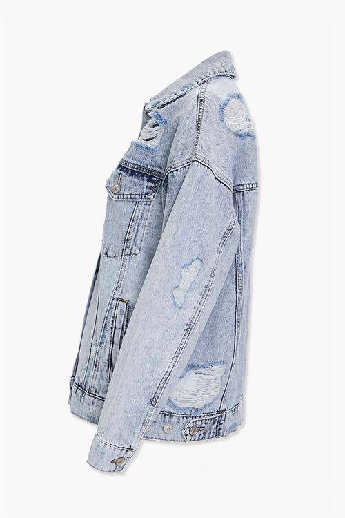 Distressed Boyfriend Denim Jacket, image 2