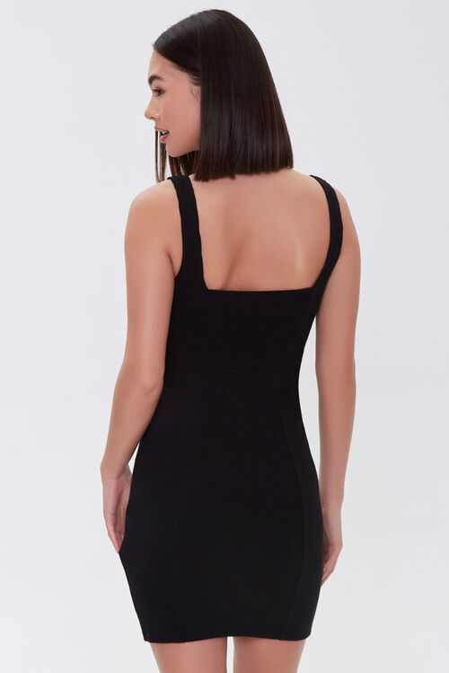 Notched Bodycon Dress, image 3