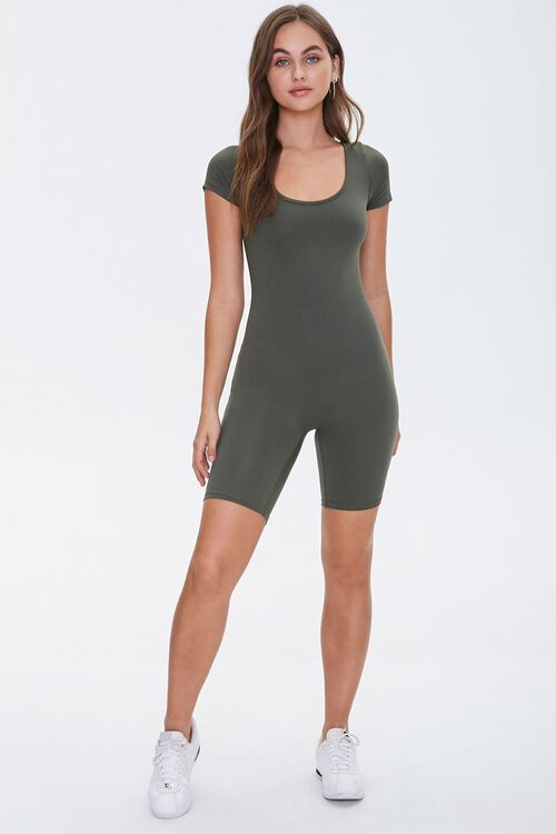 Scoop Neck Romper, image 4