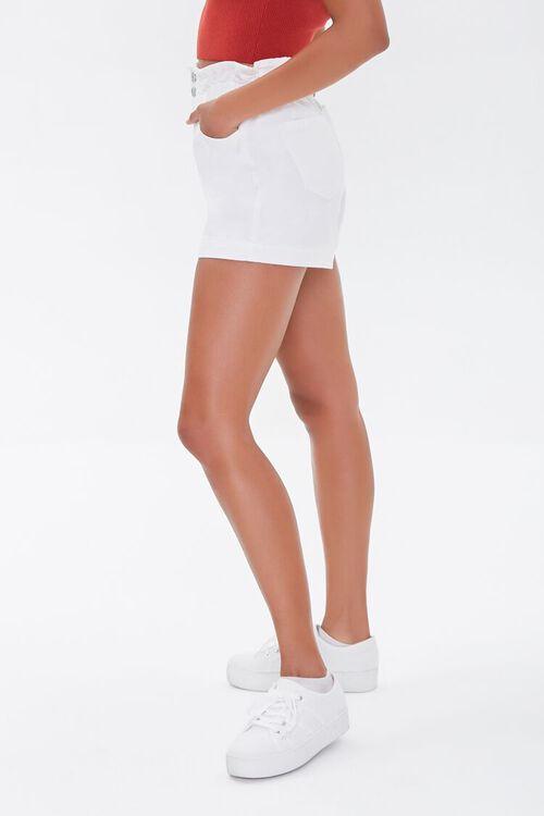 Denim Paperbag Shorts, image 3
