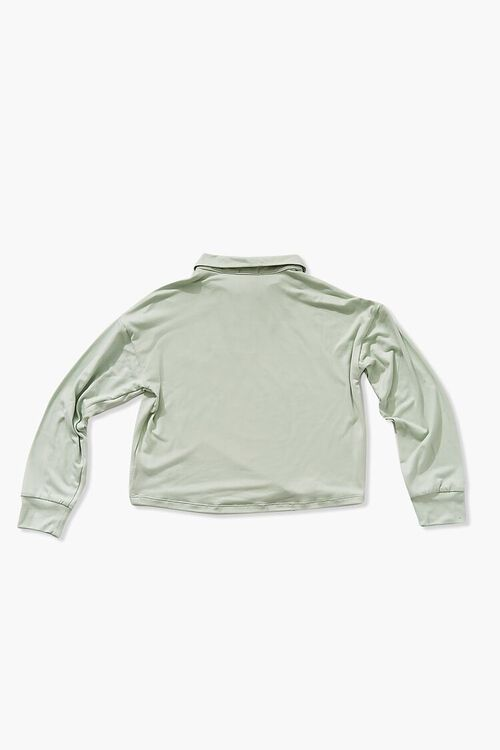 Girls Long-Sleeve Collared Top (Kids), image 2