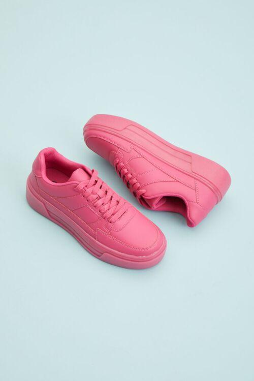 Low-Top Platform Sneakers, image 1