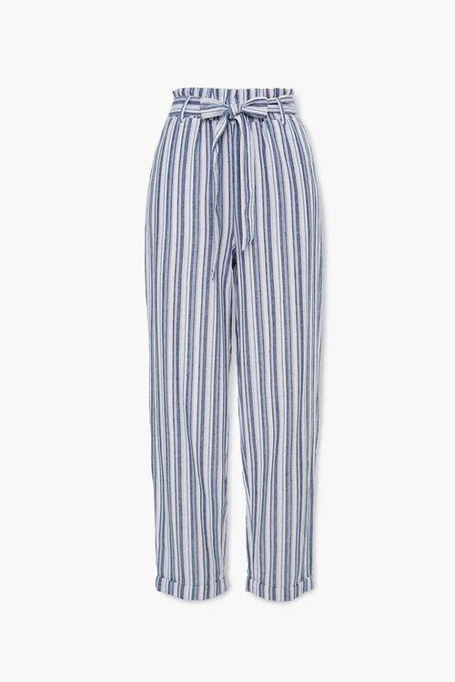 Striped Paperbag Pants, image 1