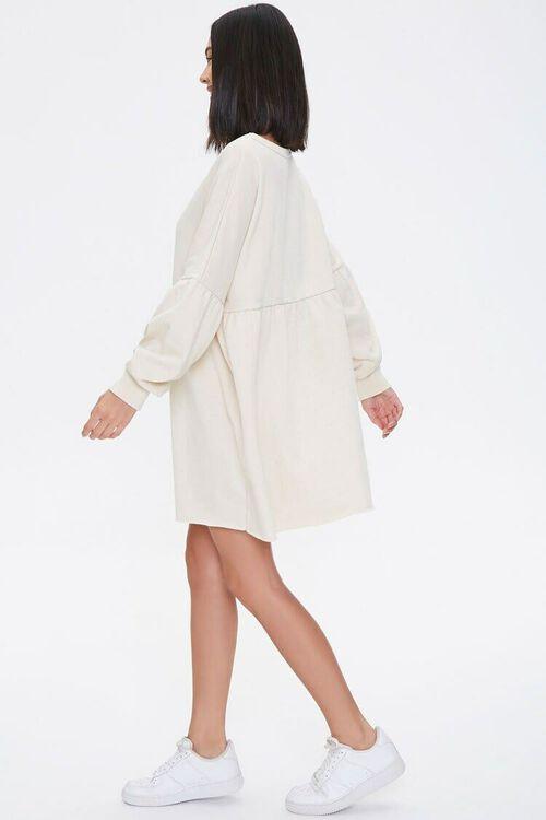 Drop-Sleeve Mini Dress, image 2