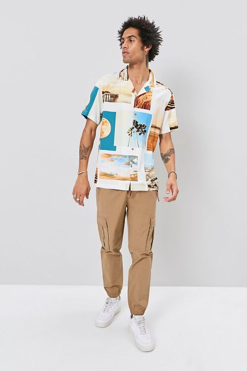 Classic Fit Beach Graphic Shirt, image 4