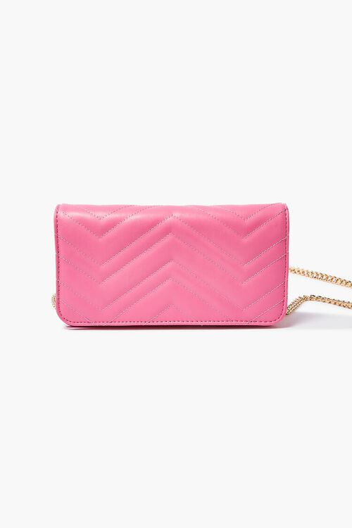 Chevron Quilted Crossbody Bag, image 1