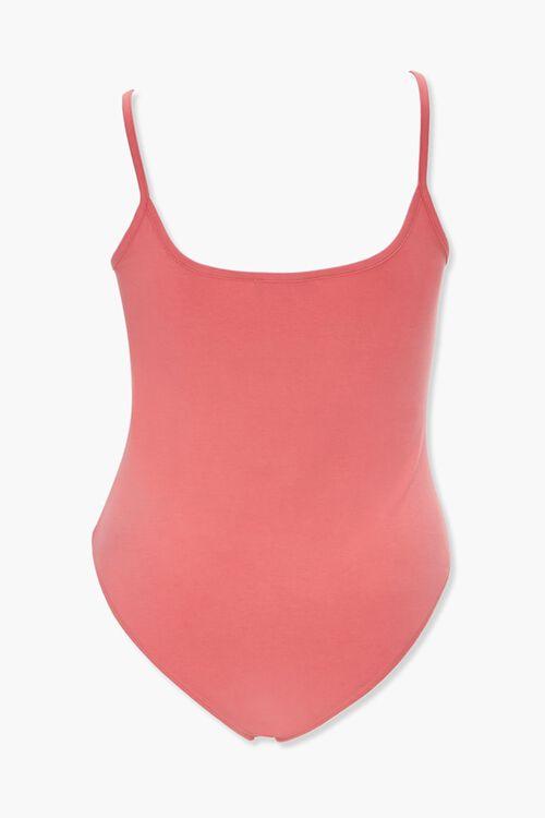 Plus Size Organic Basic Cami Bodysuit, image 2
