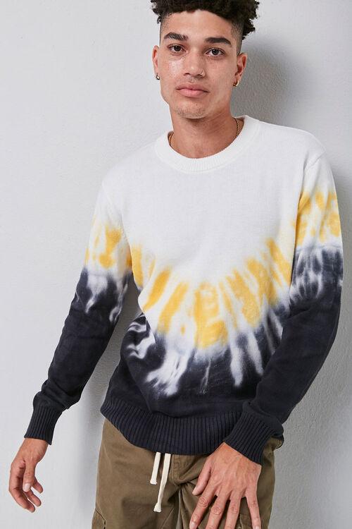 Tie-Dye Crew Neck Sweater, image 1